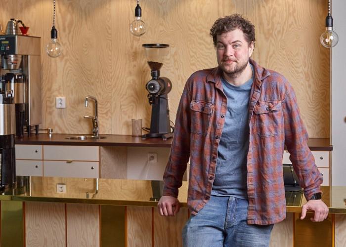 Kaffeexpert öppnar café i sann Twin Peaks-anda